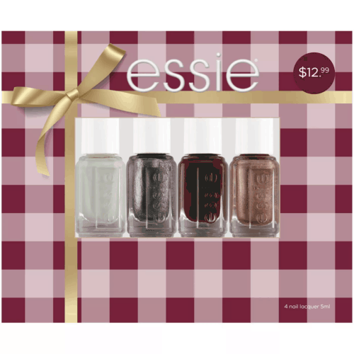 Essie nail polish set - easy and cute gifts under 20
