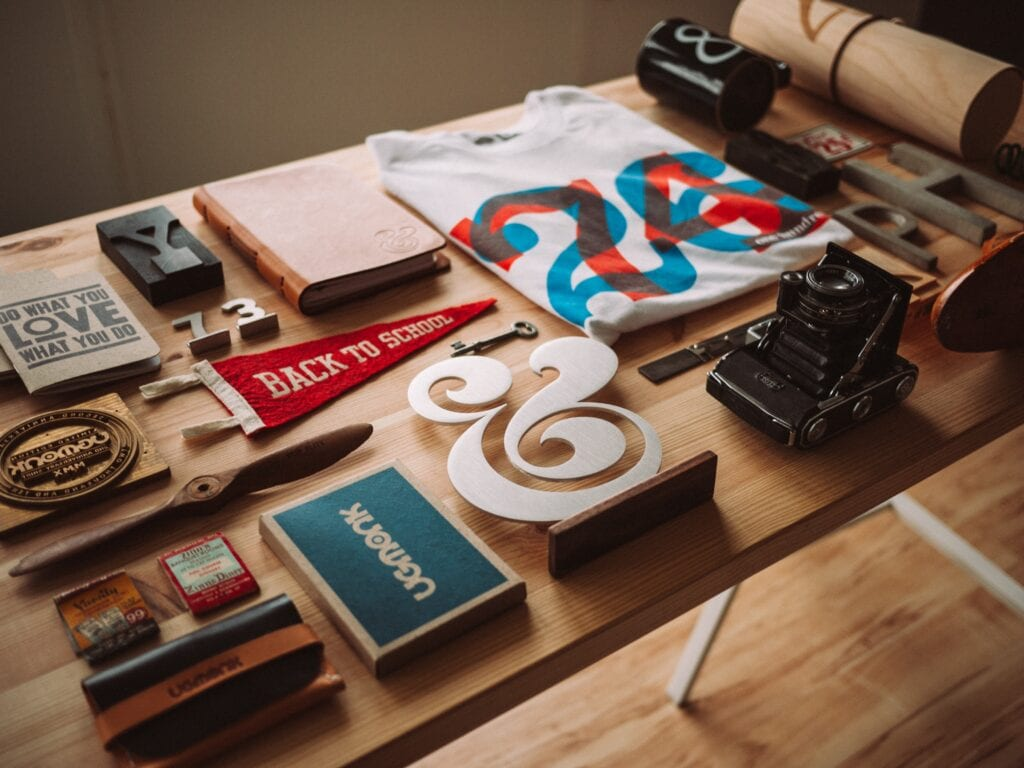organized table