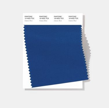 Classic Blue swatch - pantone color of the year 2020
