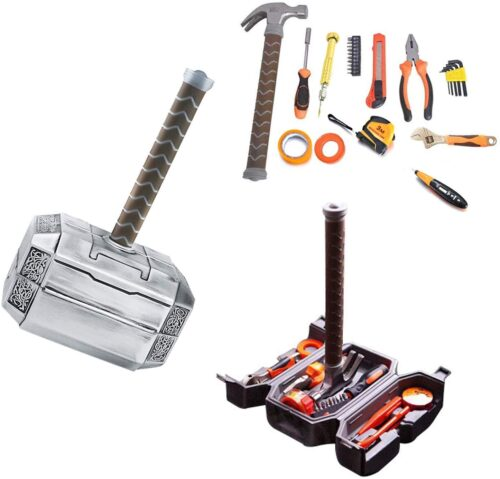 Gift ideas for nerds - thor's hammer tool kit
