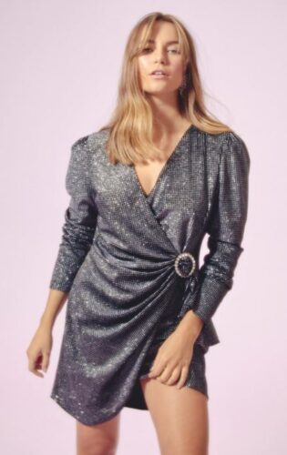 holiday fashion trends 2019 - sequin blazer dress
