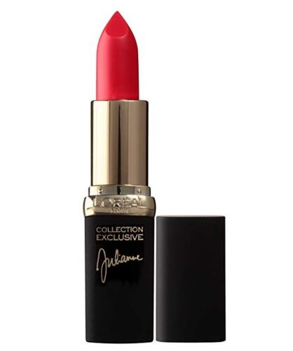 L'Oreal red lipstick in