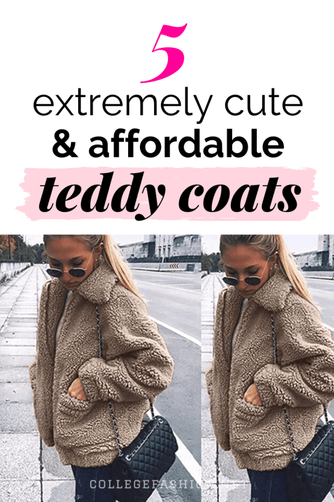 5 extremely cute and affordable teddy coats