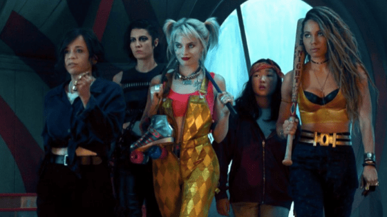 The gang in Birds of Prey (2020)