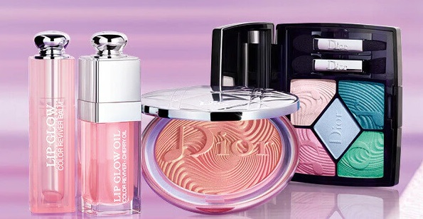 February 2020 makeup releases - Product photo of Dior Glow Vibes Spring Collection