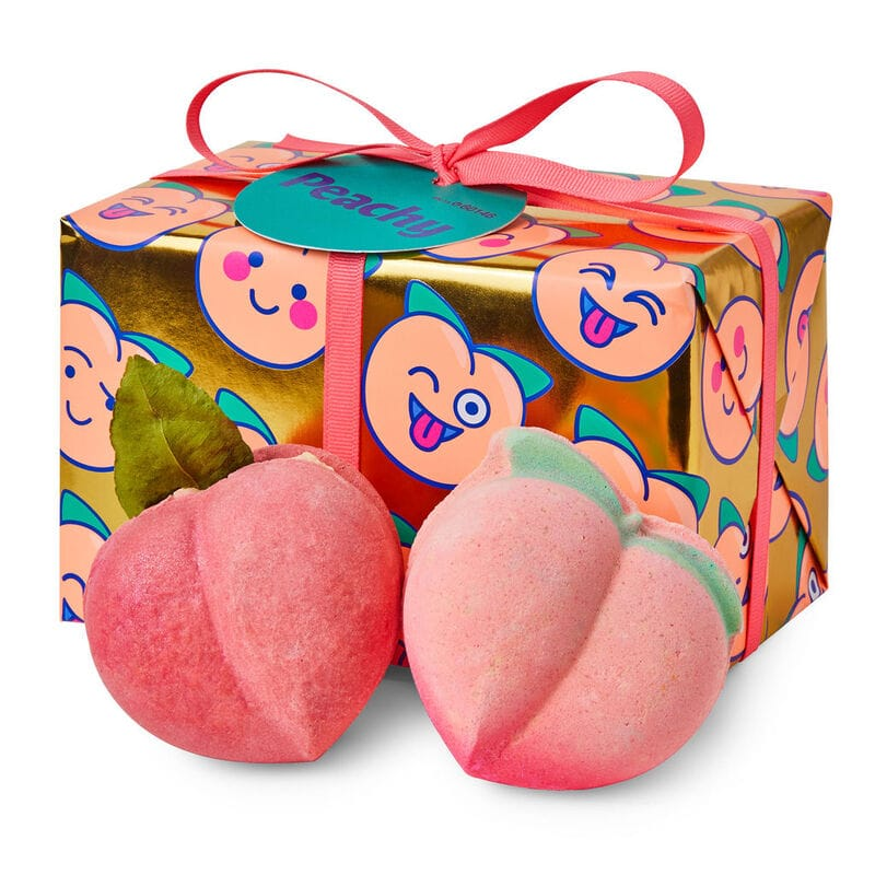 February 2020 makeup releases - Product photo of the Lush Peachy Gift Set