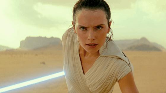 Rey in Star Wars, the Rise of Skywalker