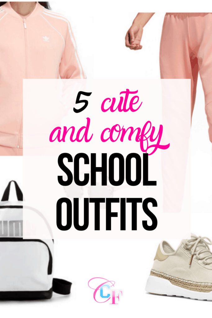 5 cute and comfy school outfits to look cute for your morning classes