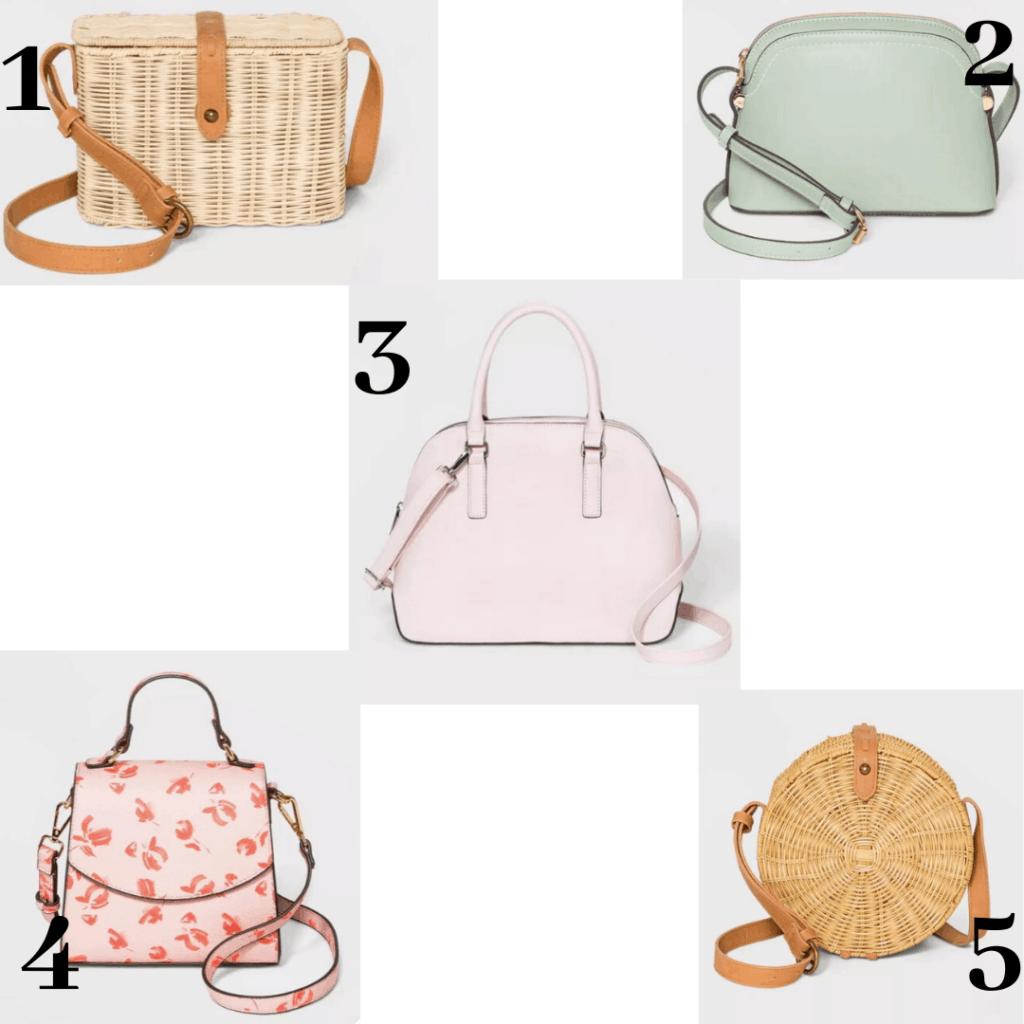 Target Spring purses