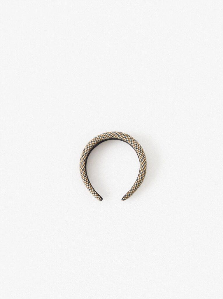 Zara plaid headband