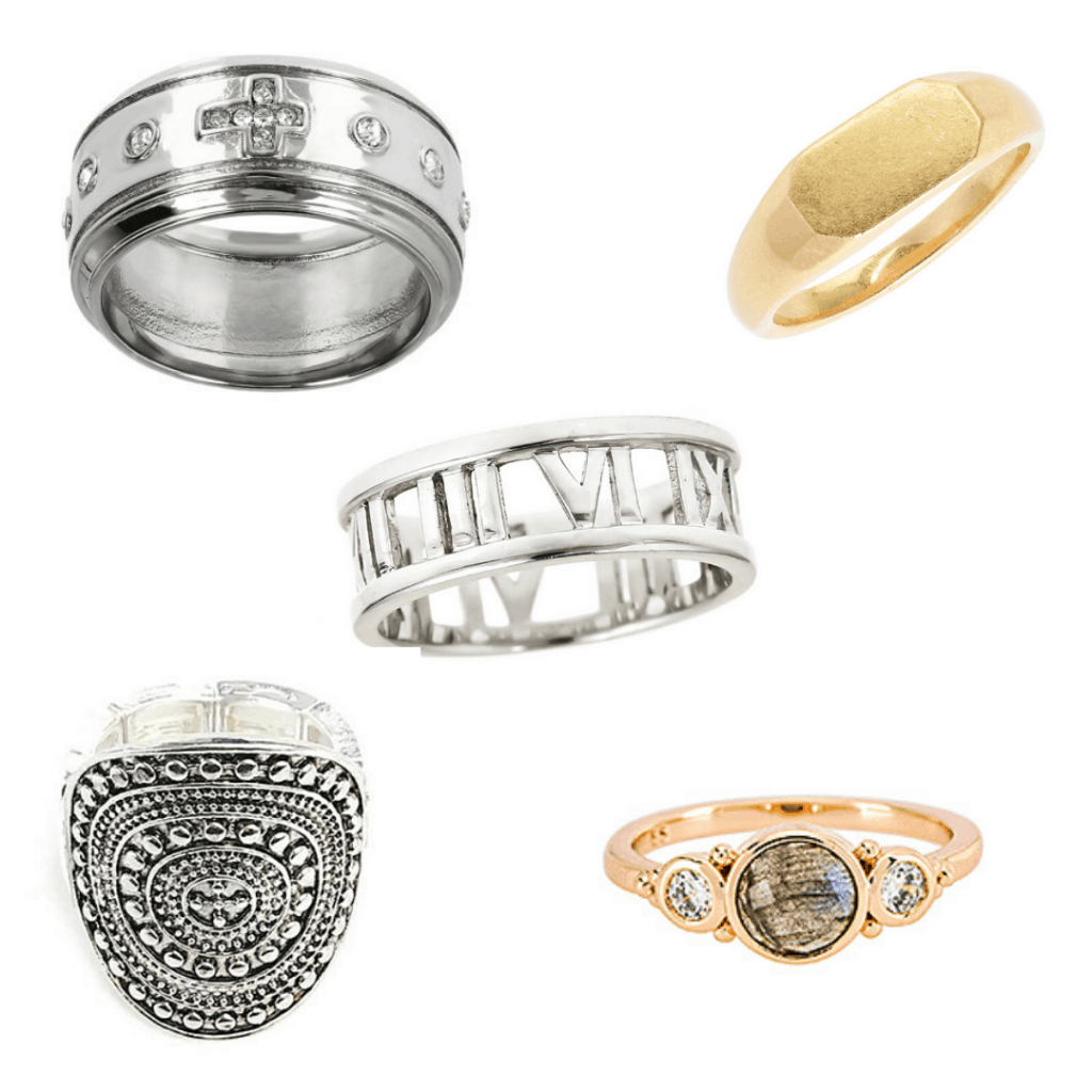 Harry Styles inspired chunky rings