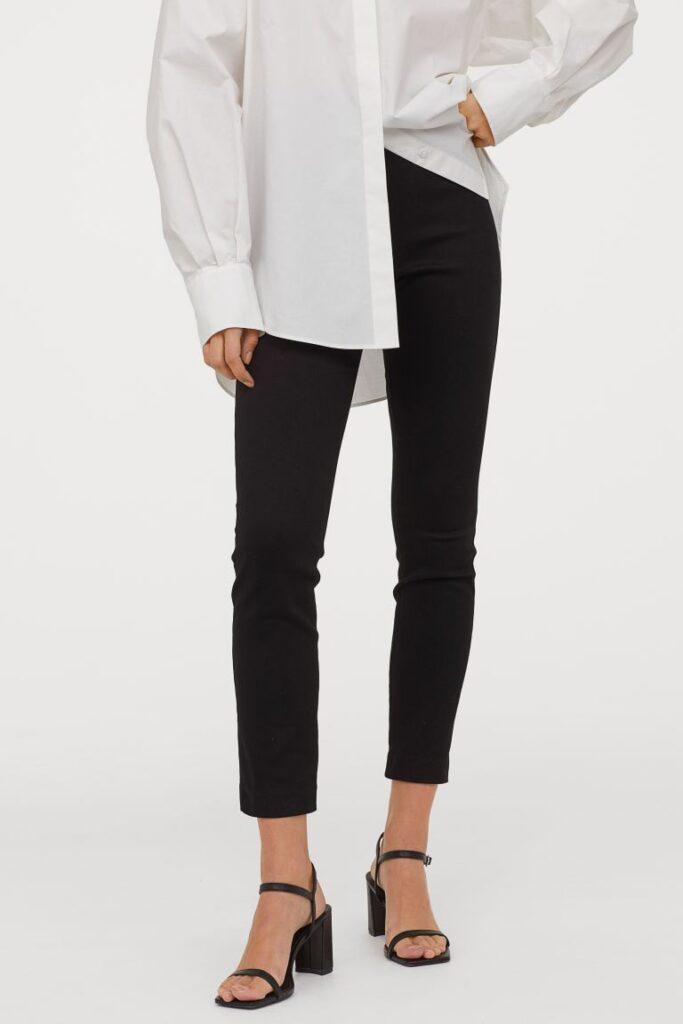 H&M black skinny pants