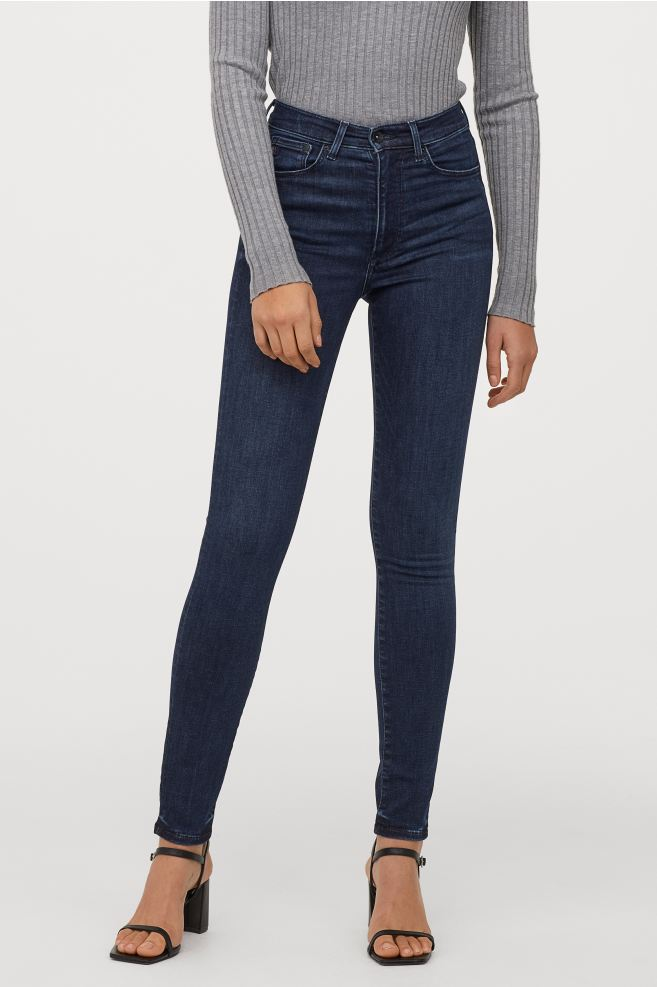 Dark skinny jeans from H&M