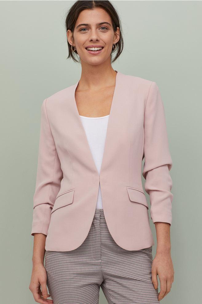 Pink blazer from H&M