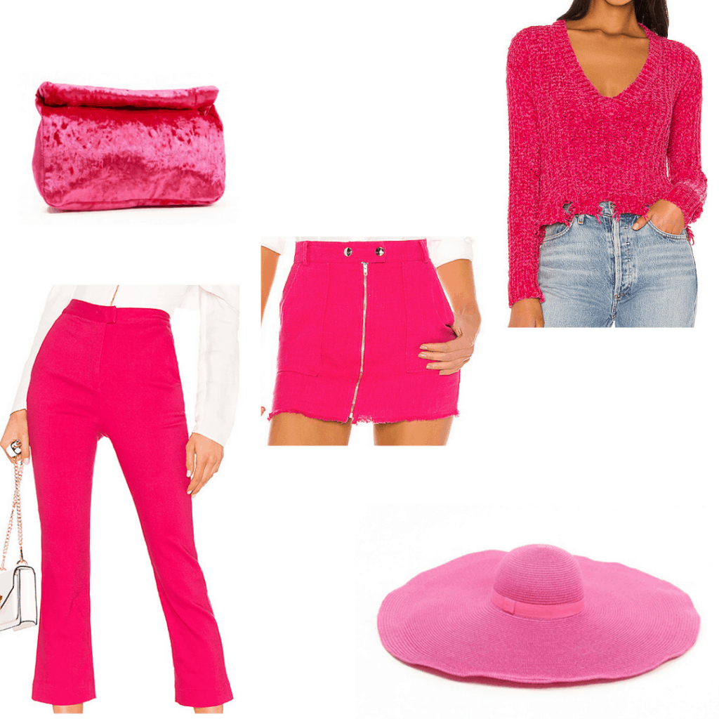 Pink pieces inspired by Harry Styles' fashion sense
