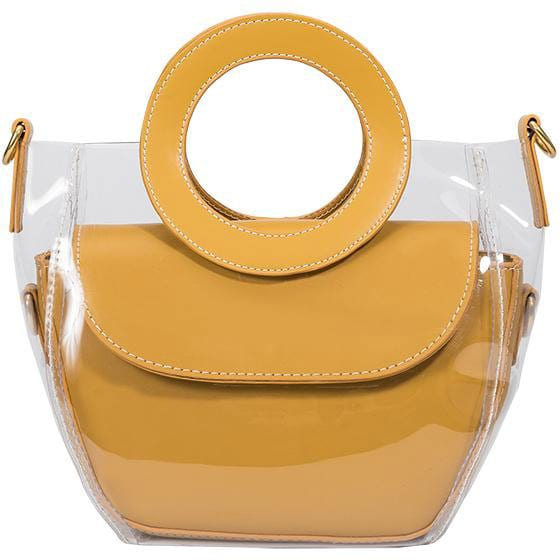 Melie Bianco yellow tote - best eco accessories