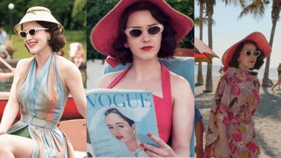 Mrs Maisel vacation outfits