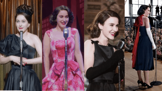 Mrs Maisel performance outfits