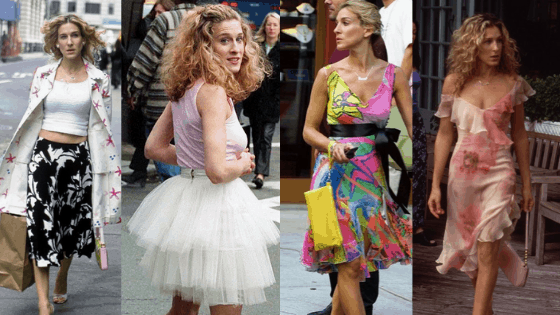 Sex and the City fashion: Carrie Bradshaw