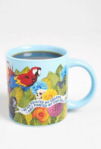 Frida Kahlo quote mug.