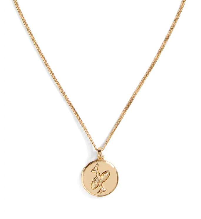 Zodiac necklace from Banana Republic