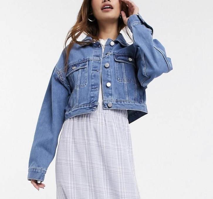 Product photo of a jean jacket from ASOS
