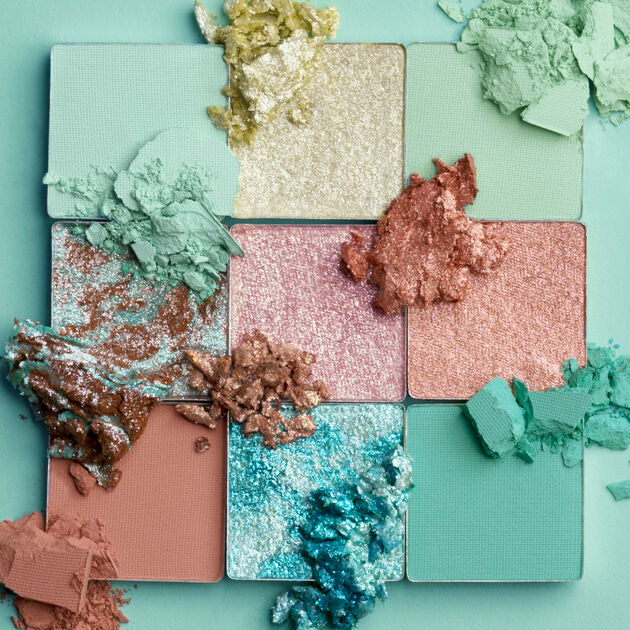Huda Beauty mint obsessions palette, one of the best March 2020 makeup releases