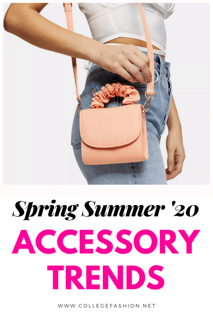 Accessories trends 2020: The hottest accessory trends for spring and summer, from pastel mini bags to chunky chain jewelry