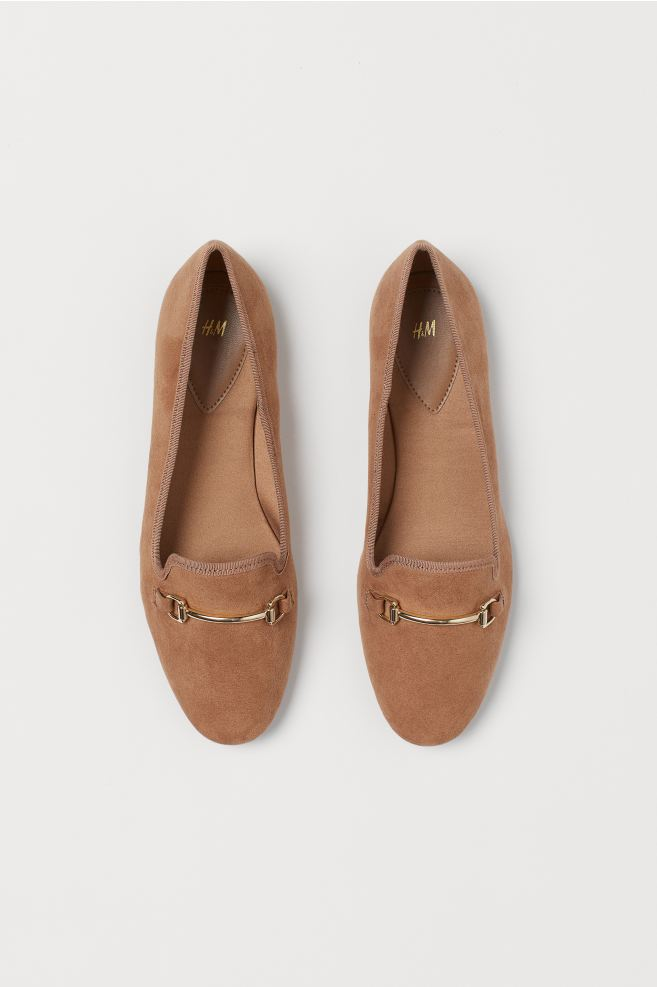 Brown H&M loafers