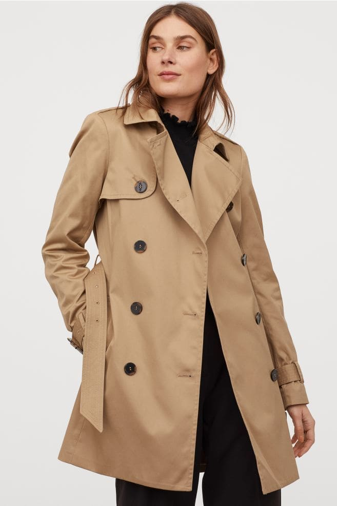 Spring pieces every woman needs: H&M classic beige trench coat
