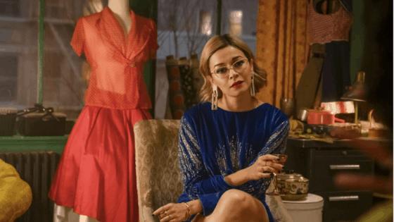 Pepper on the TV series Katy Keene