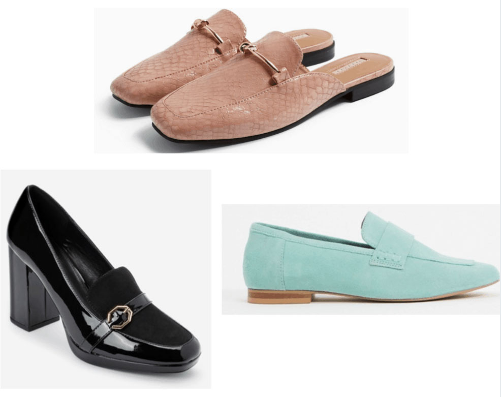Spring 2020 shoe trends - loafers