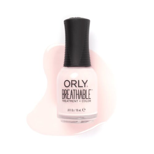Nail color trends for 2020: ORLY Kiss Me I'm Kind sheer nail polish