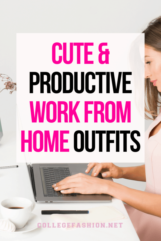 Our favorite cute & productive work from home outfits for online classes or jobs