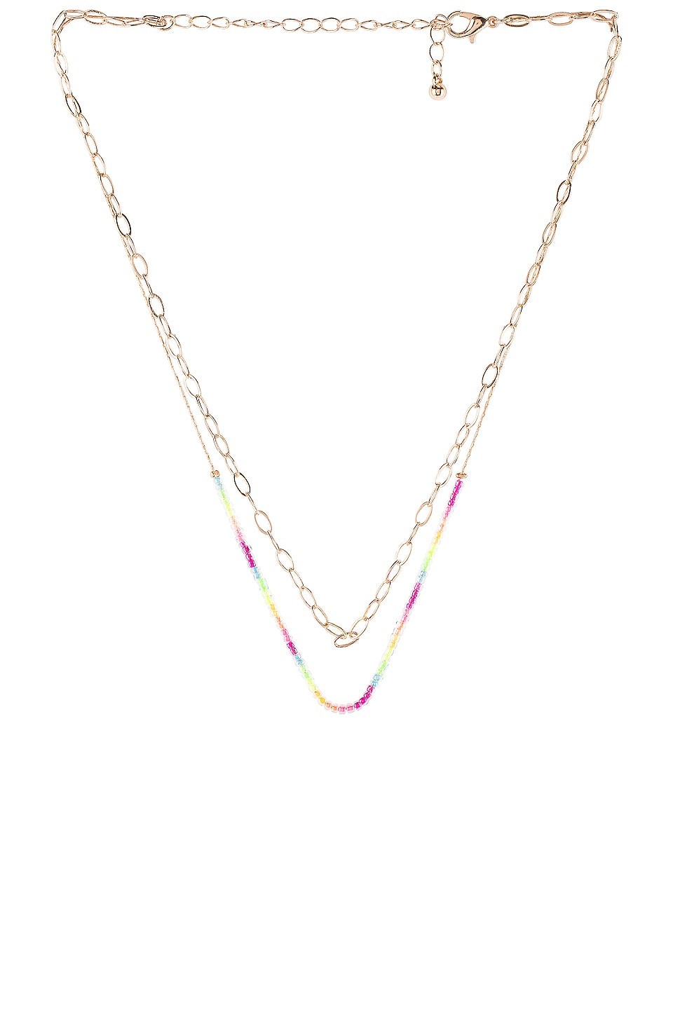 How to accessorize 2020: 8 Other Reasons Layered Chain and Neon Bead Necklace