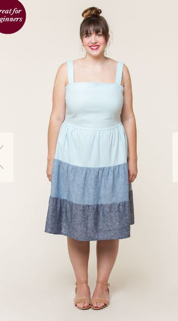 Beginner sewing projects clothing: Amber Dress by Colette Patterns