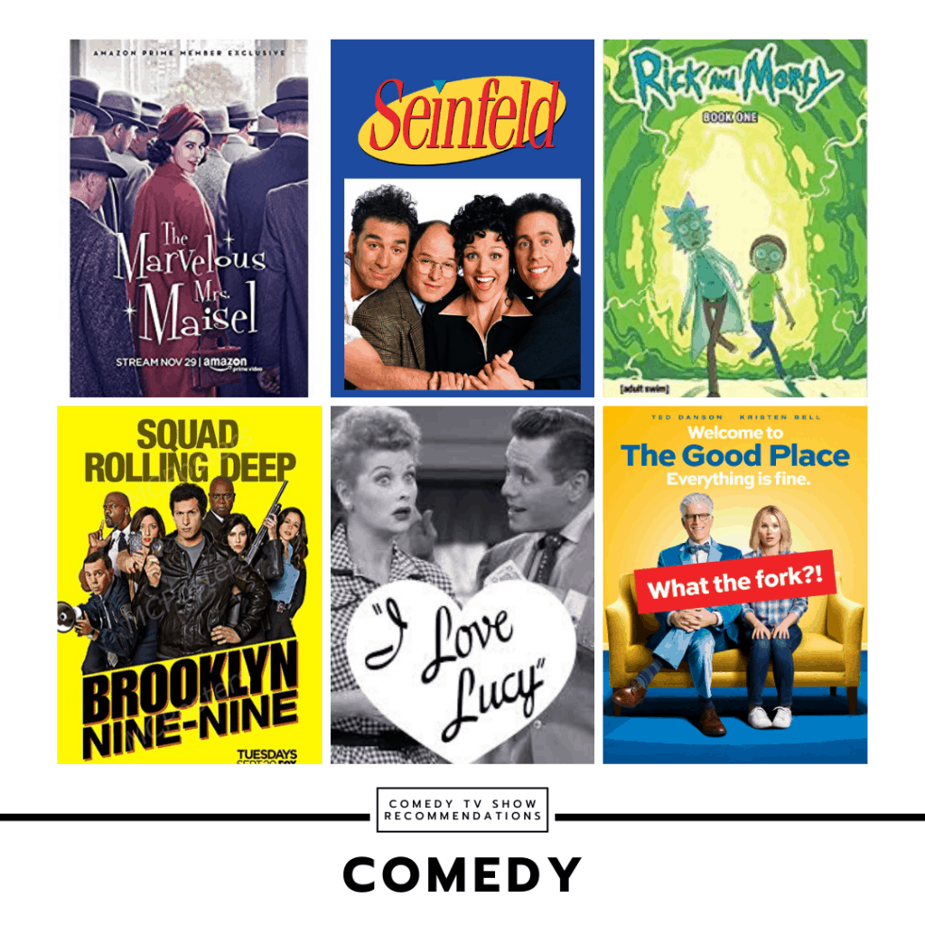 TV show recommendations - comedy