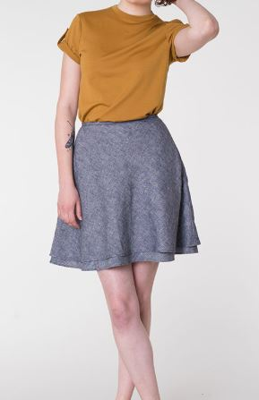 Beginner sewing pattern: Everly Skirt by Colette Patterns