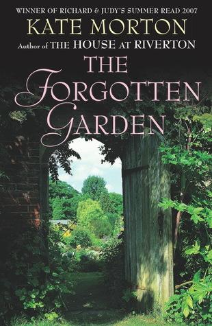 Kate Morton The Forgotten Garden book cover