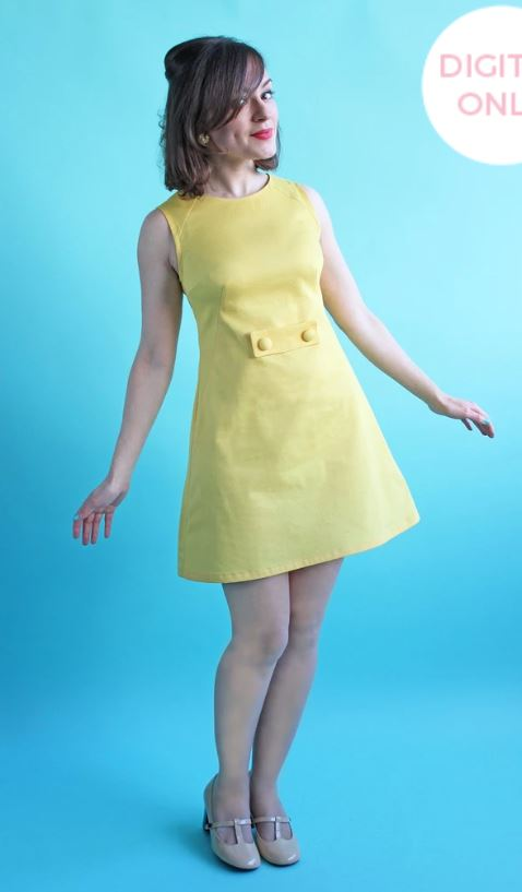 Beginner sewing projects: Francoise Dress by Tilly and The Buttons