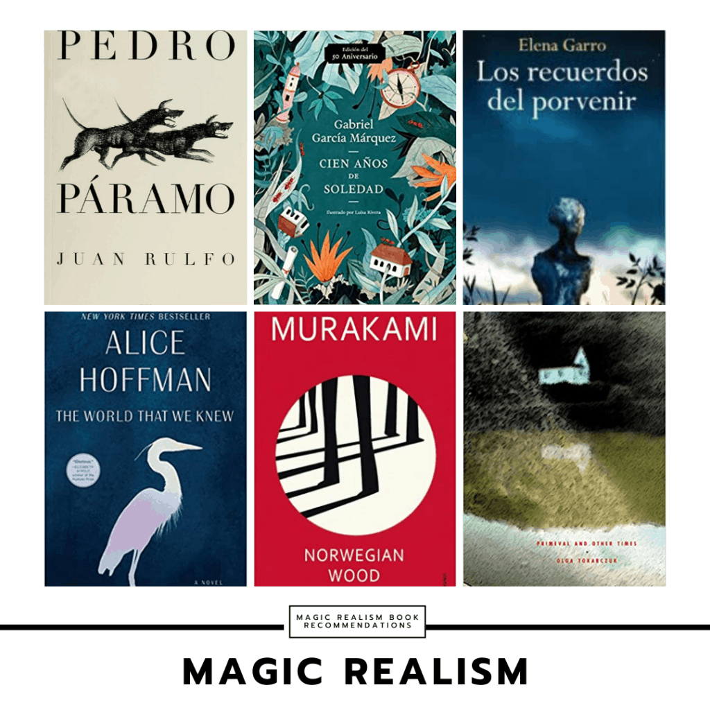 Book recommendations for college students: Magical realism
