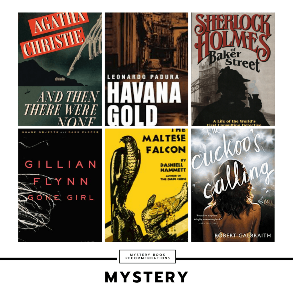 Mystery genre book recommendations
