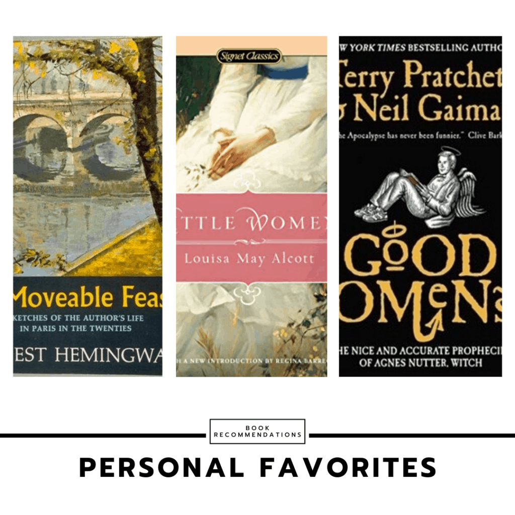 Personal favorite book recommendations for college students