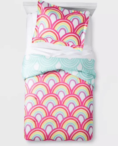 Product photo of a Target comforter set