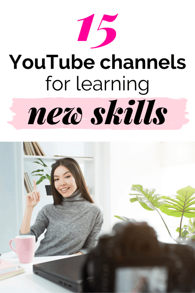 Best youtube channels for learning new skills
