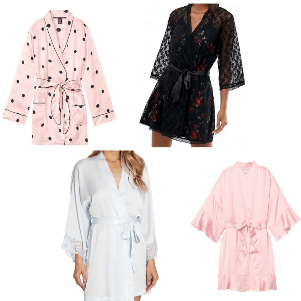 Pajama trends - silk robes