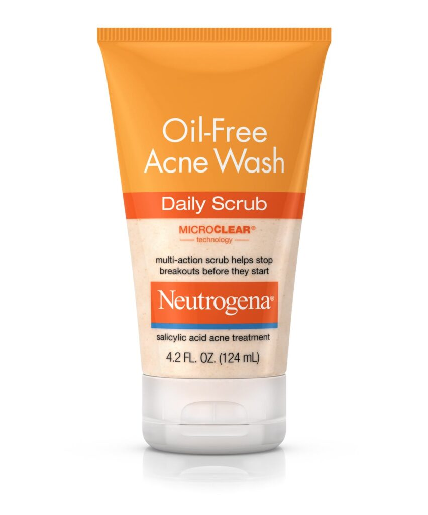 Product photo of Neutrogena's Oil-Free Acne Wash Daily Scrub
