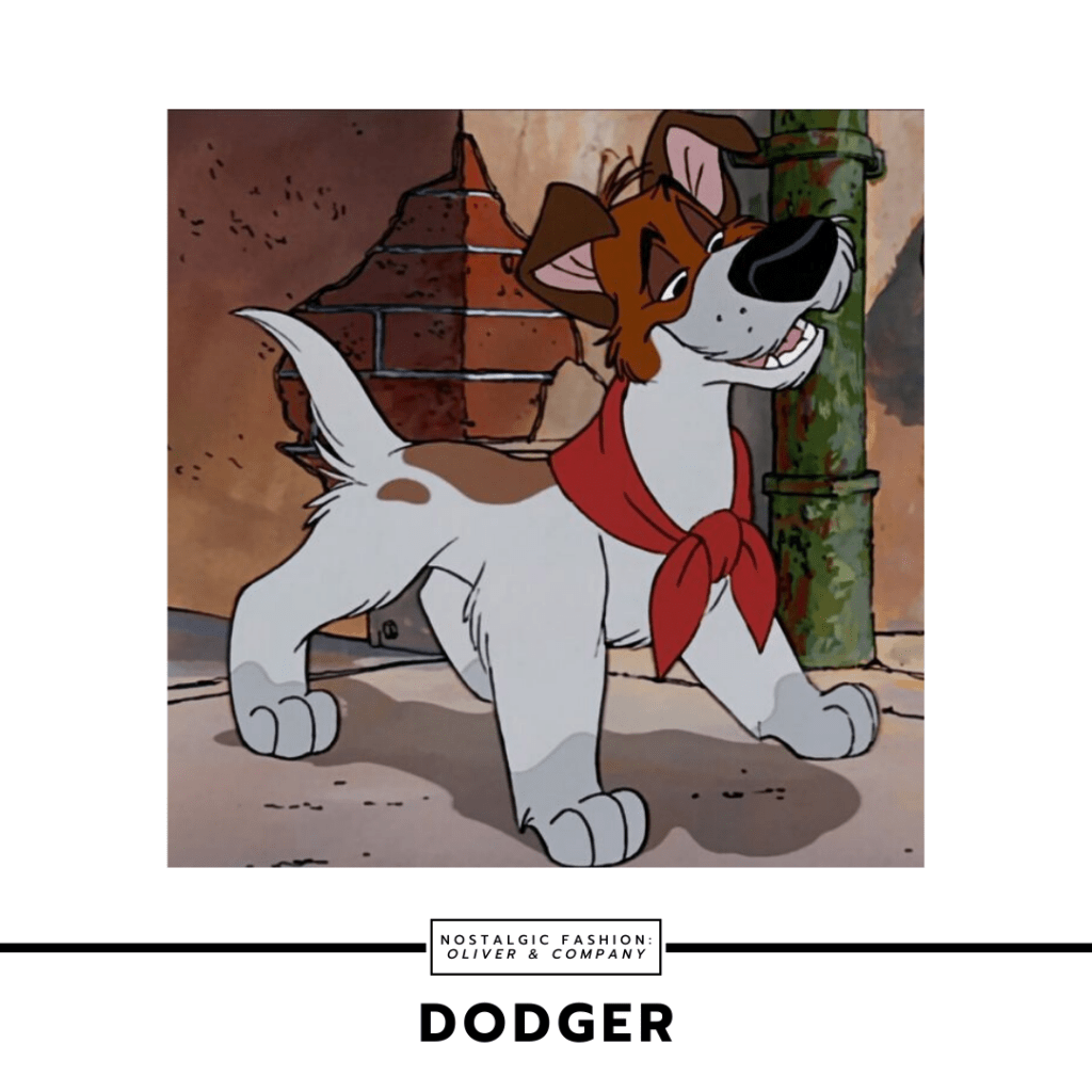 Dodger from Disney's Oliver and Company