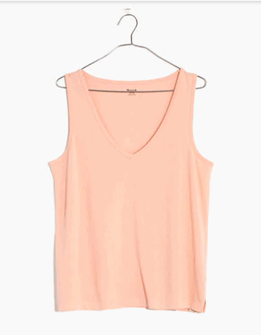 Product photo of a Madewell tank top