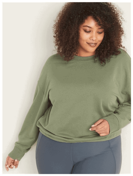 Three Comfortable and Stylish Plus-Size Quarantine Outfits | Image
